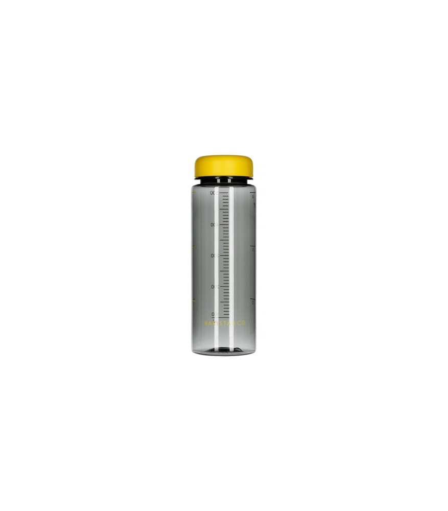 Barista & Co - Timer Measure Water Bottle Yellow - Butelka