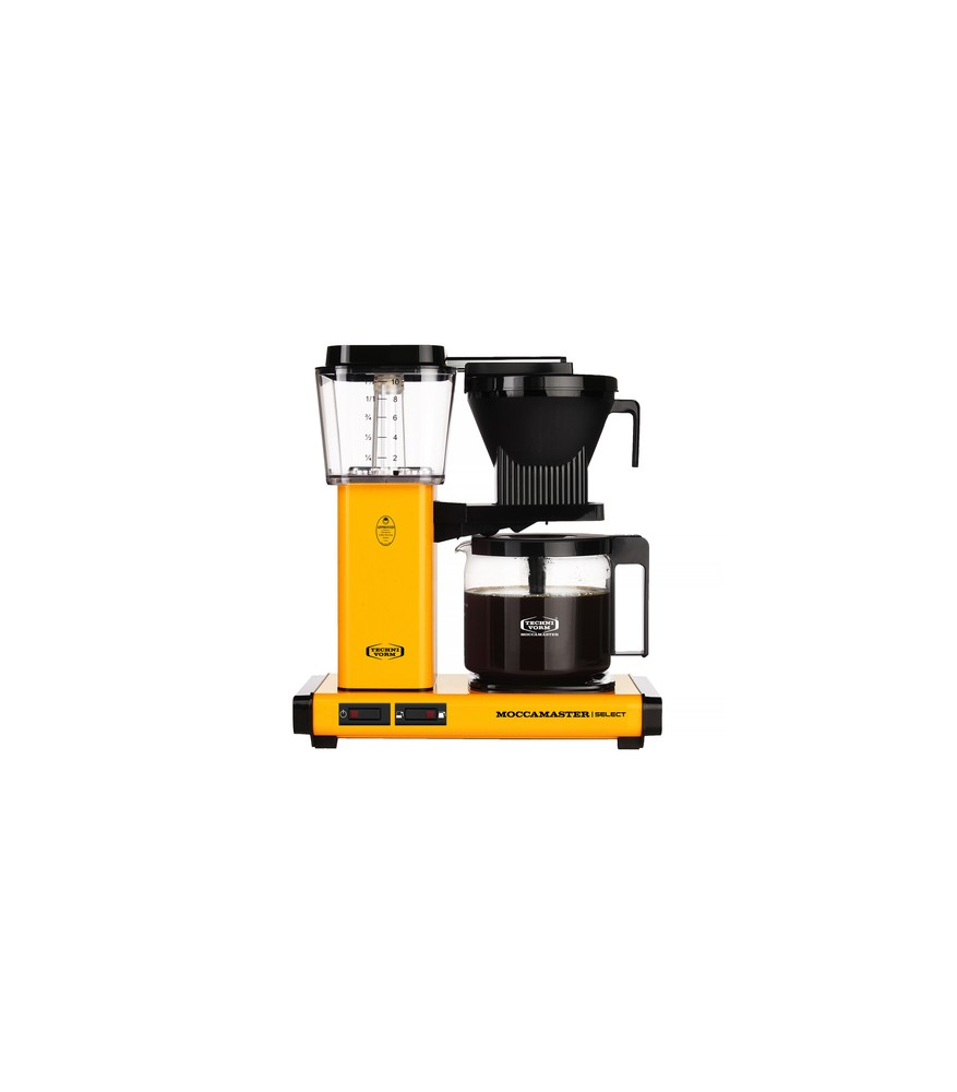 Moccamaster KBG 741 Select - Yellow Pepper - Ekspres przelewowy