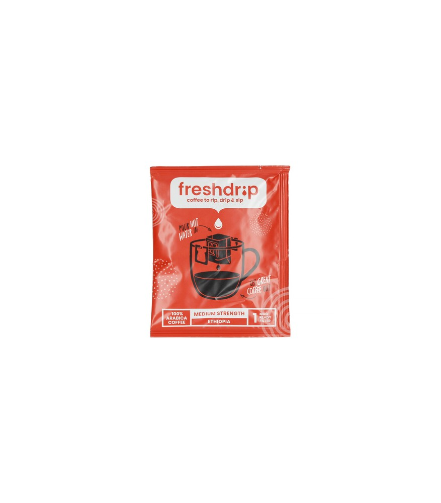 Freshdrip - Red Ethiopia Medium-Strength - 1 saszetka